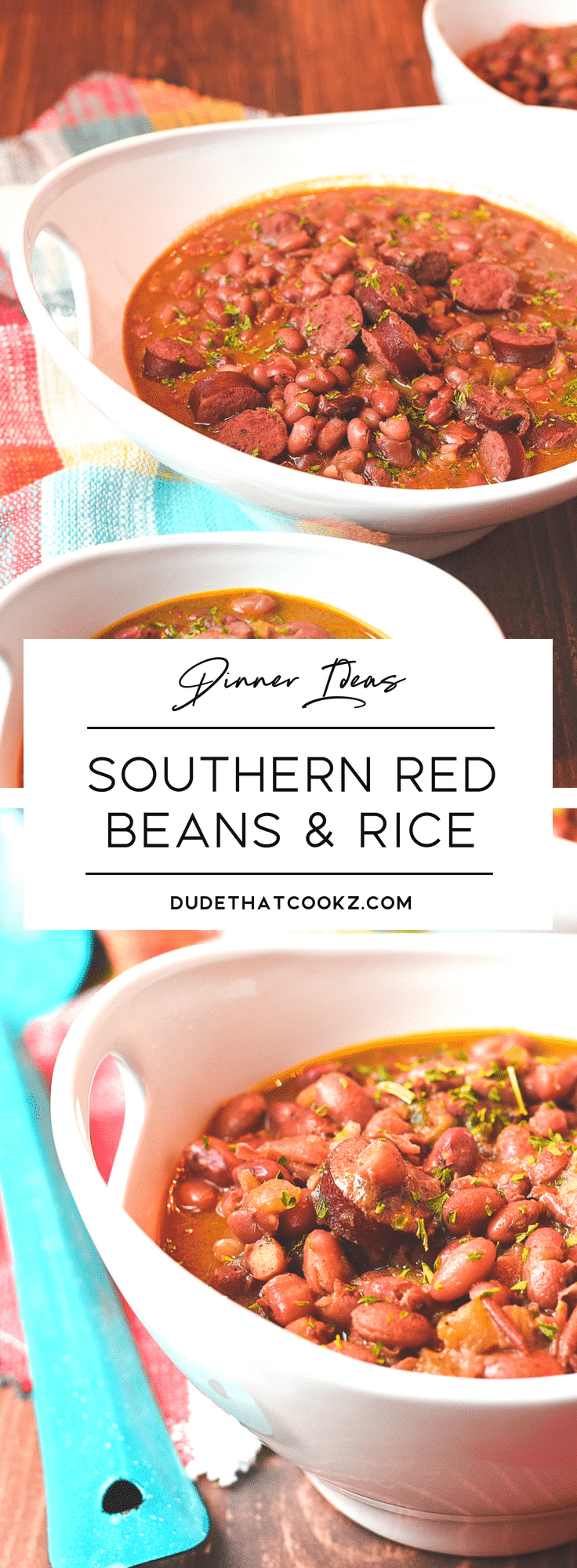 Southern Red Beans & Rice | Dude That Cookz