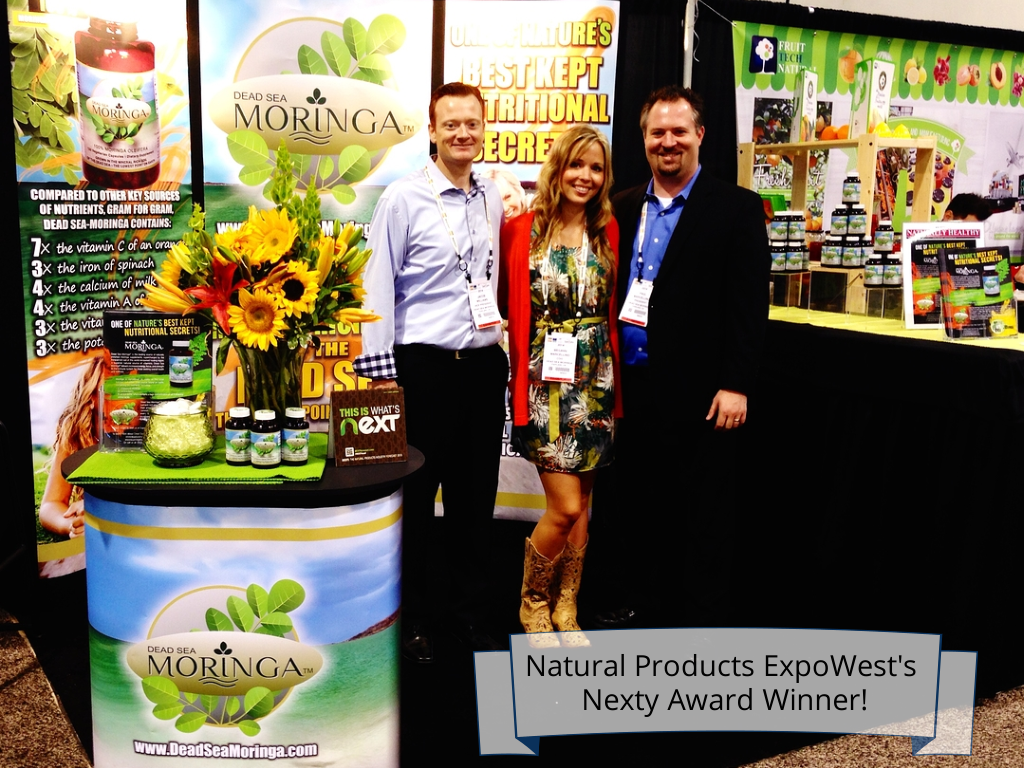 We won a Nexty award! The Nexty award nomination recognizes brands for being innovators and thought leaders at Expo West 2014 #ExpoWest #NatProdExpo  #supplement #nutrition #HealthSupplement #health