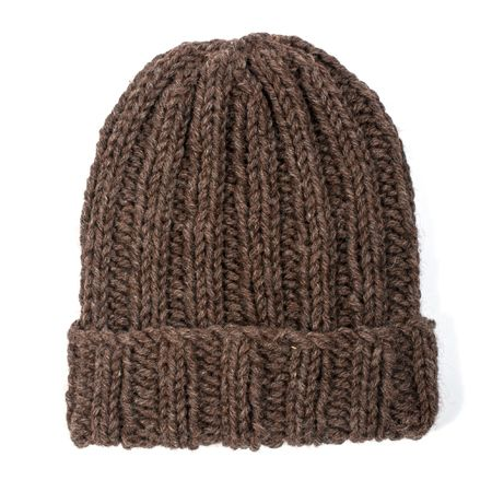 Beginner Hat Knitting Patterns : Exclusive! Free beginner beanie hat knitting pattern from The Toft Alpaca Sho...