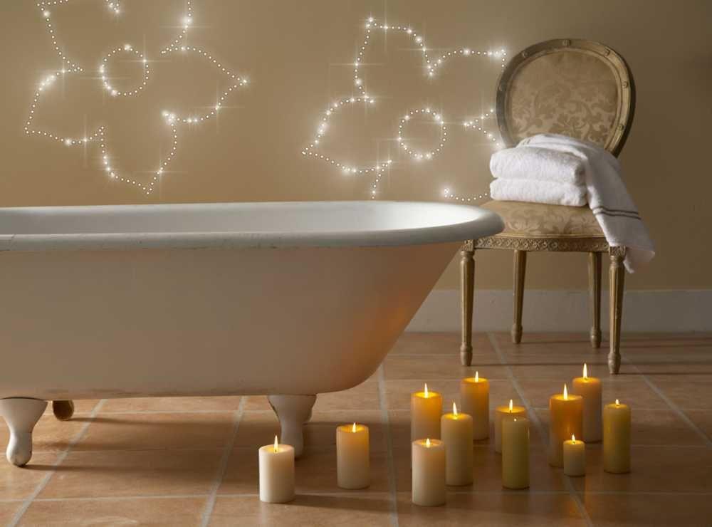 Badezimmer Sternenhimmel ~ Led dekowand im bad. bausatz von pix light.de. sekundenschnelle