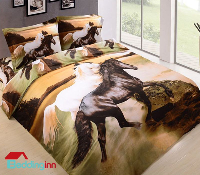 Pin By Beddinginn On Interior Decorations Horse Bedding