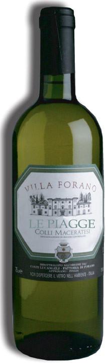 #Appignano: Azienda Villa Forano - Le Piagge, Colli Maceratesi Bianco DOC #maceratino #trebbiano