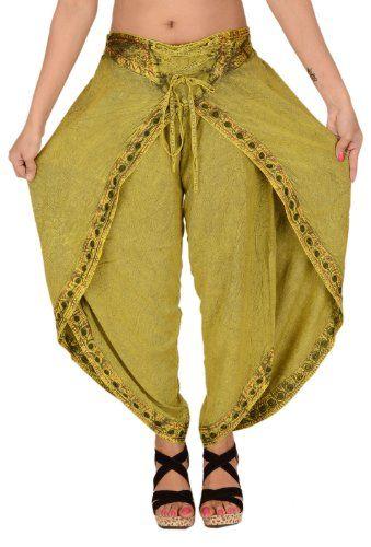 how to wear genie pants