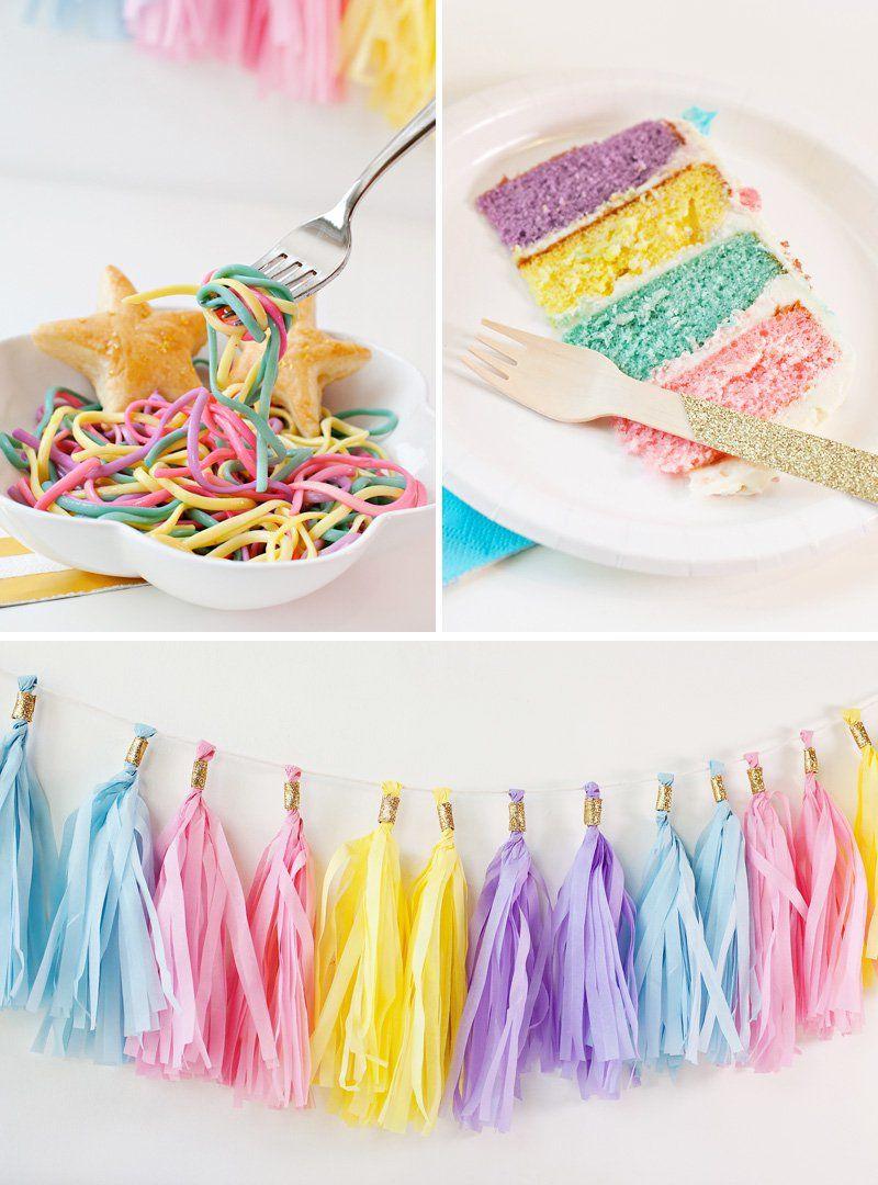 (Simple & Sweet) Unicorn Birthday Party Ideas Unicorn
