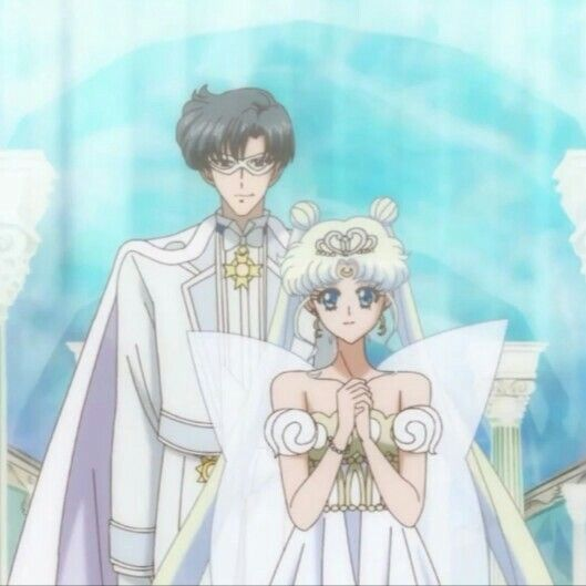 Neo Queen Serenity Crystal: Neo Queen Serenity And King Endymion
