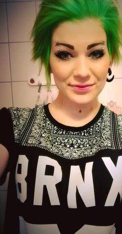 CrazyColor Vihreä Shokkihiusväri -Emerald Green | Cybershop