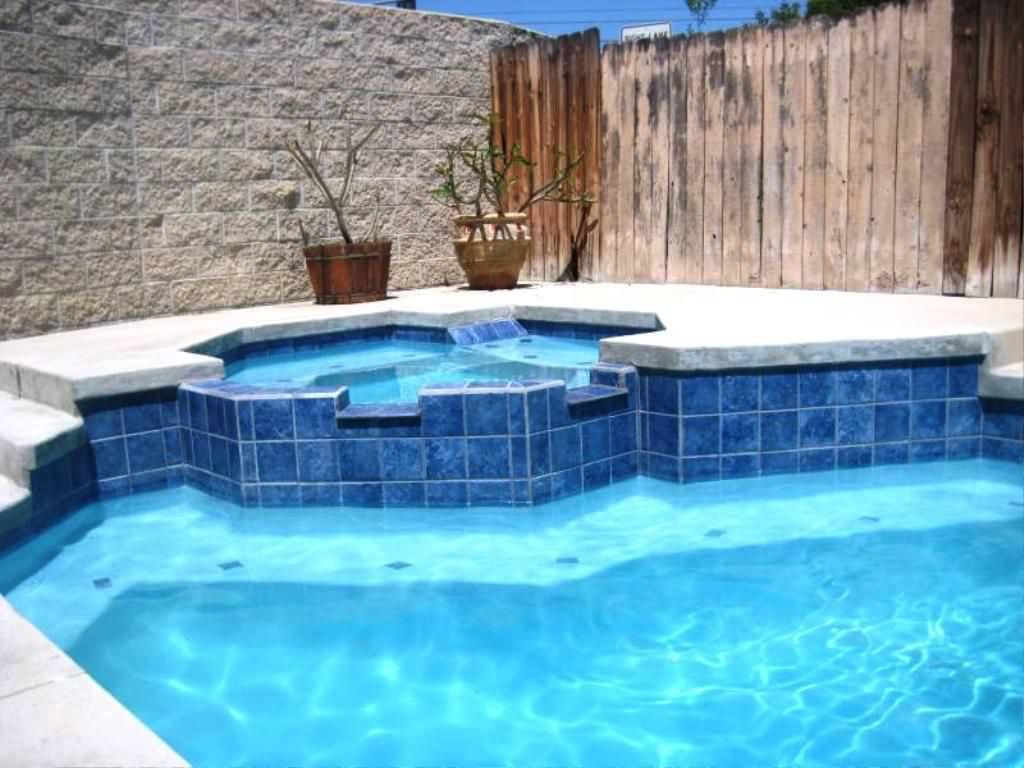 Water line pool tile pool tile ideas pool for Uses for old swimming pools