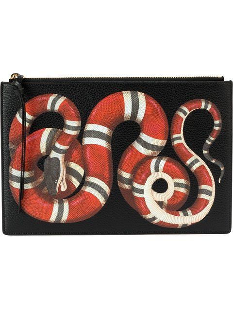 09cea3421303 GUCCI kingsnake print clutch. #gucci #bags #leather #clutch #lining #hand  bags #