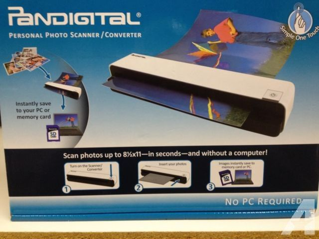Pandigital Personal Photo Scanner/Converter for Sale in Saint Paul, Minnesota Classified | AmericanListed.com