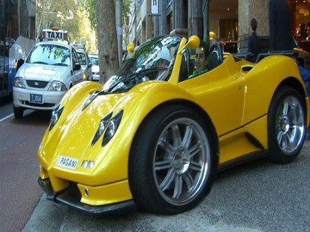 Mini Supercars A Photo Gallery Smart Car Body Kits Super Cars Smart Car