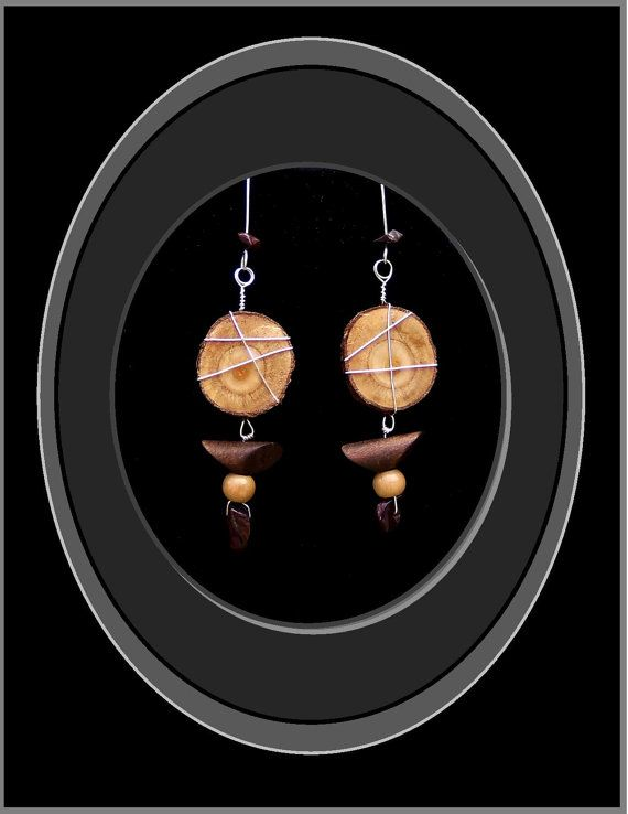 Nature abounds Slices Of Heaven Natural by RosesWireArtJewelrY, $28.00