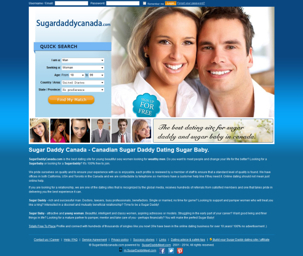 How to find sugar daddies online for free