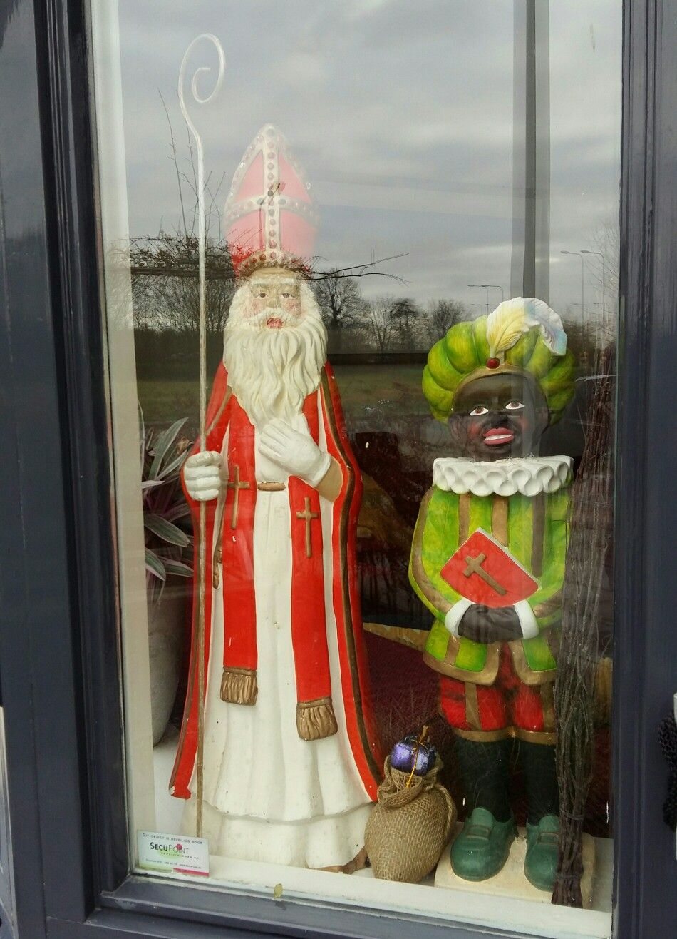 Sinterklaas Etalage Decoratie Sinterklaas Zwarte Piet Sint Nicolaas