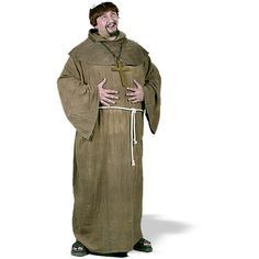 FANCY DRESS MEN/'S MONK COSTUME FRIAR LAWRENCE