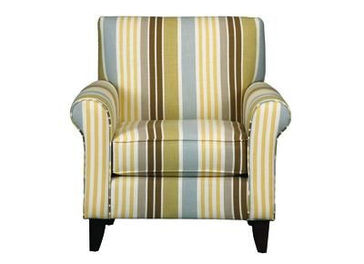 Who Doesn T Love A Great Stripe North Shore Accent Chair Badcock Home Furniture Chair Furniture Accent Chairs
