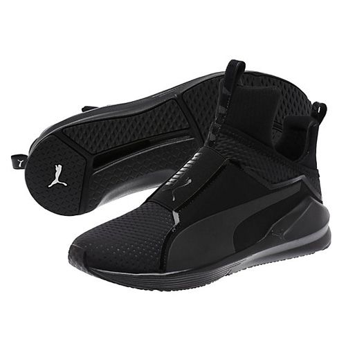Puma Black Fierce Quilted Womens Training Shoes  Best Chic Fashion