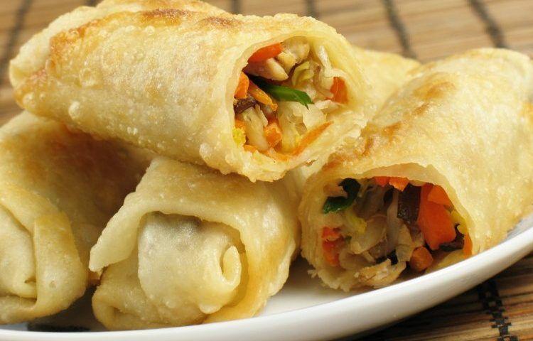 سبرينج رول بالدجاج سيدات مصر In 2020 Egg Roll Recipes Recipes Food