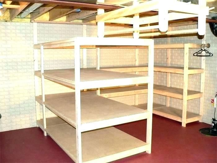 Build Free Standing Storage Shelves   Woodworking plans ...