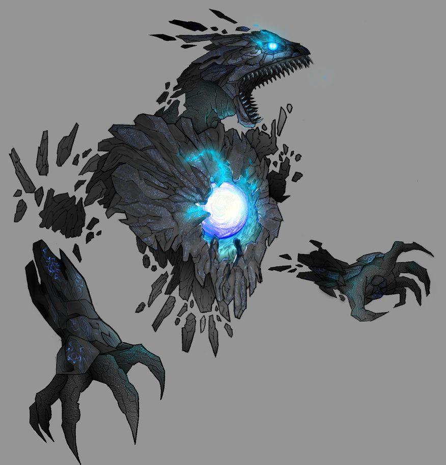 Crystal Dragon By Demonsamuraizero On DeviantArt