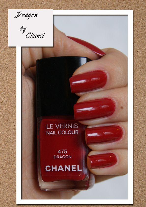 Bonito Chanel Esmalte De Uñas Dragón Embellecimiento - Ideas de ...