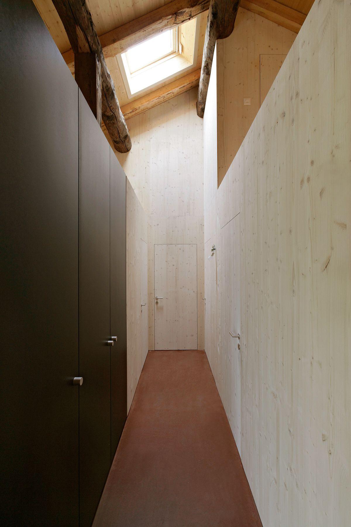 Projekt - Umbau Raron - Imboden - wir gestalten Wohnraum   Korridor ...