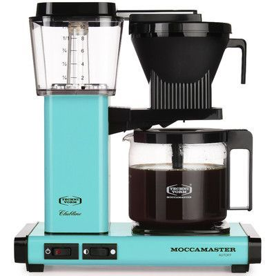Moccamaster KBG Coffee Maker Color: Turquoise | Products | Pinterest ...