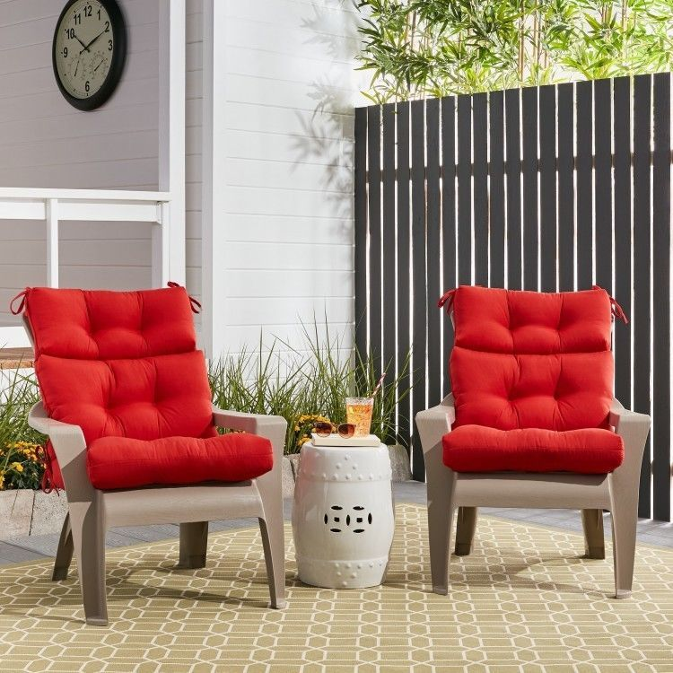 Outdoor Patio Seat Cushions Set Of 2