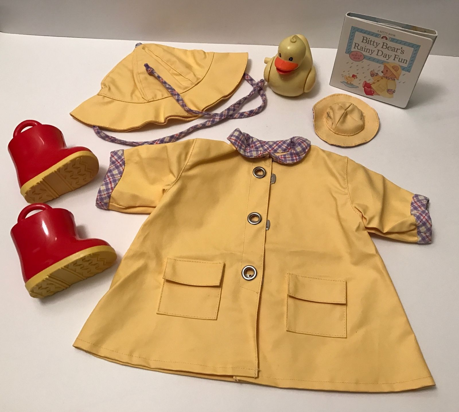 Bitty Baby Rainy Day outfit set retired American Girl Pleasant