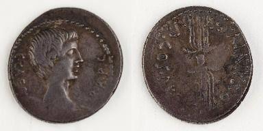 Roman Emperor Augustus (63-14) Son of Gaius Octavius/adopted by Julius Caesar and Atia Balba Caesonia. Husband to Clodia Pulchra (m.42), Scribonia (m.40) and Livia (m.37)