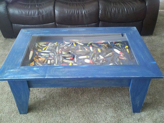Custom Coffee Table With Hinged Lift Top To By JermCreationz, $300.00