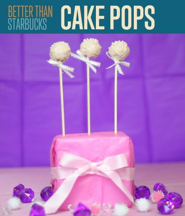 How To Make Cake Pops Starbucks birthday Cake pop tutorial and