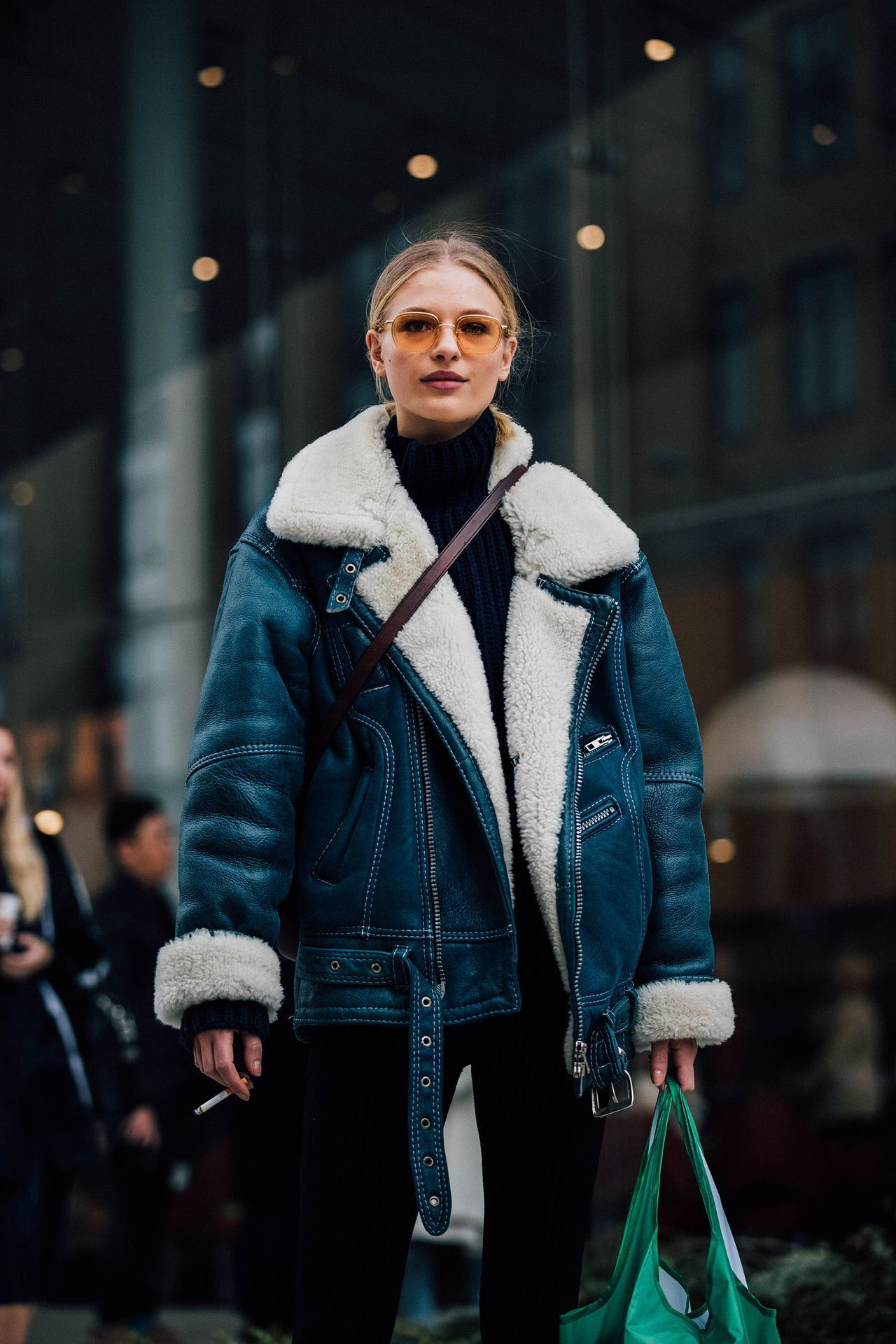 00d95314891220 The Best Street Style From New York Fashion Week