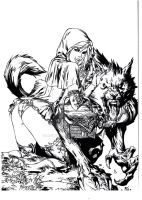 Big Bad Wolf Inked - Ebas by LahmiaRaven