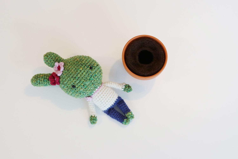 Crochet Pattern: Playful Cactus Girl - InArt   Varios   Pinterest