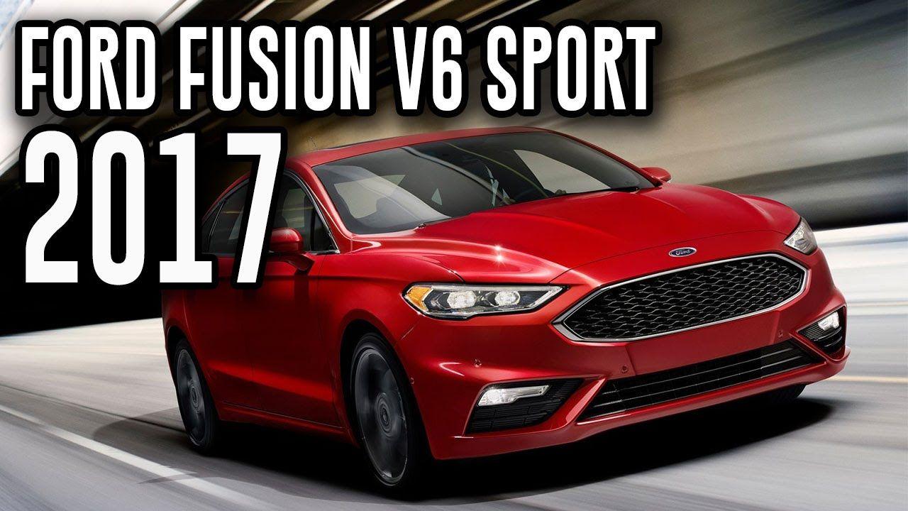 2017 Ford Fusion V6 Sport New Advanced Midsize Car Fusion