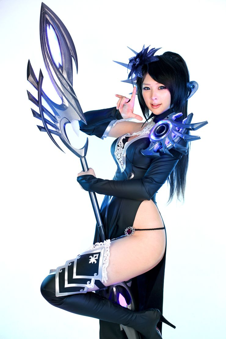 korean cosplay model 안녕하세요. 이번에 저희가 보여드릴 코스프레는 이스트소프트의 MMORPG 카발1의 위자드의 미공개 컷...