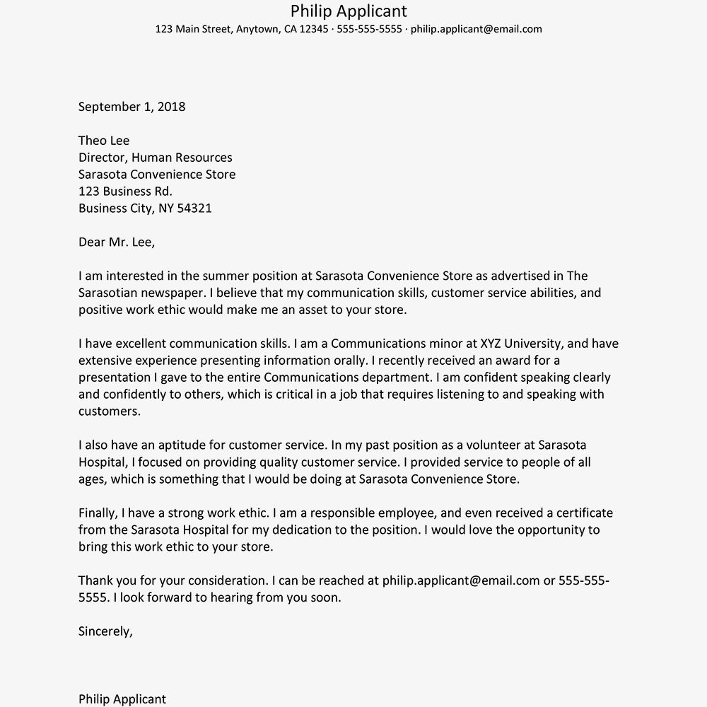 30 Sample Cover Letter For Job Job Cover Letter Cover Letter