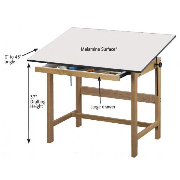 drafting table plans download ww furniture pinterest
