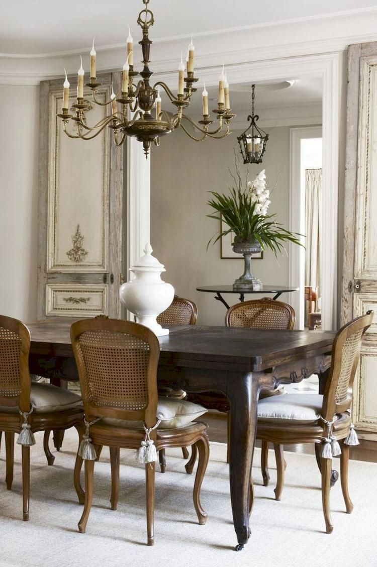 31 French Farmhouse Dining Table Design Ideas Luxury Dining Room Country Dining Rooms Vintage Dining Table