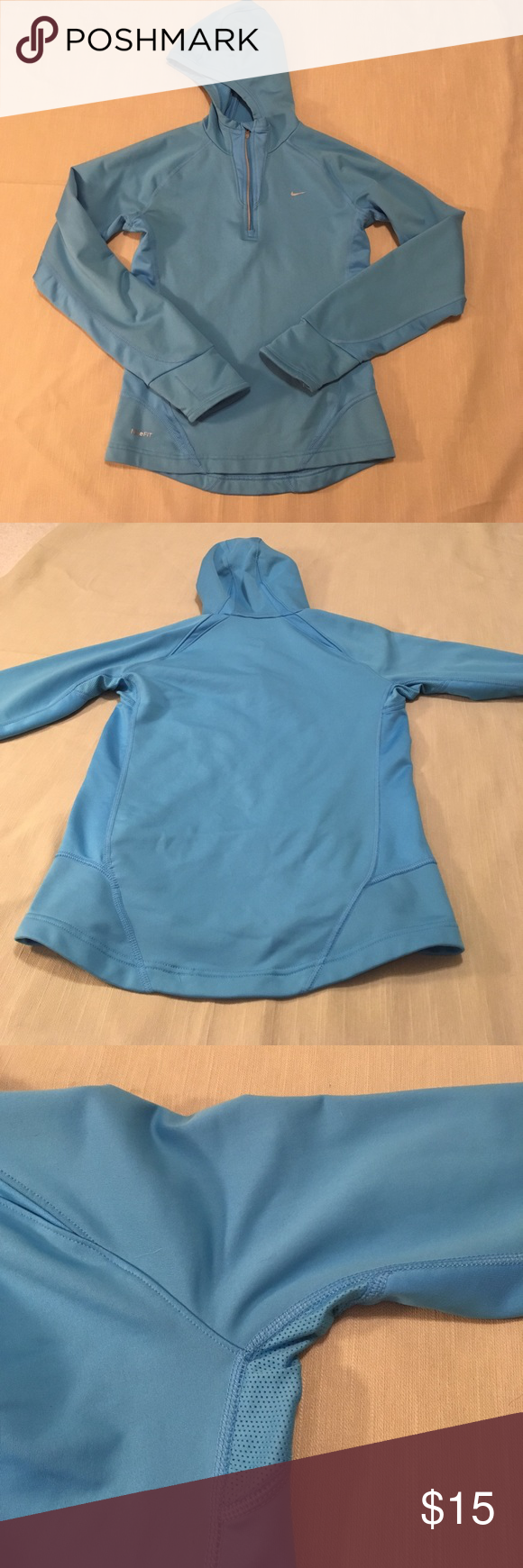 hp nike dry fit hoodie xs extra fabric nike hoodie and