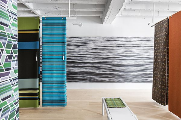 Wavelength by Joni Sternbach, NeoCon, Chicago, 2013. Photography by Mark Mahaney.