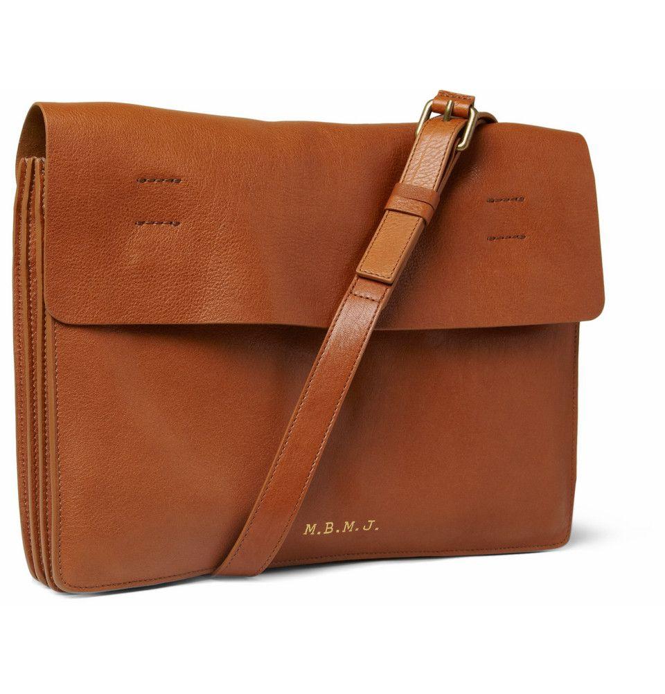 Marc by Marc Jacobs Leather Messenger Bag | 가방, 크로스백, 가죽