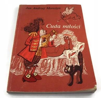 Cuda Milosci Jan Andrzej Morsztyn Book Cover Illustrators Books