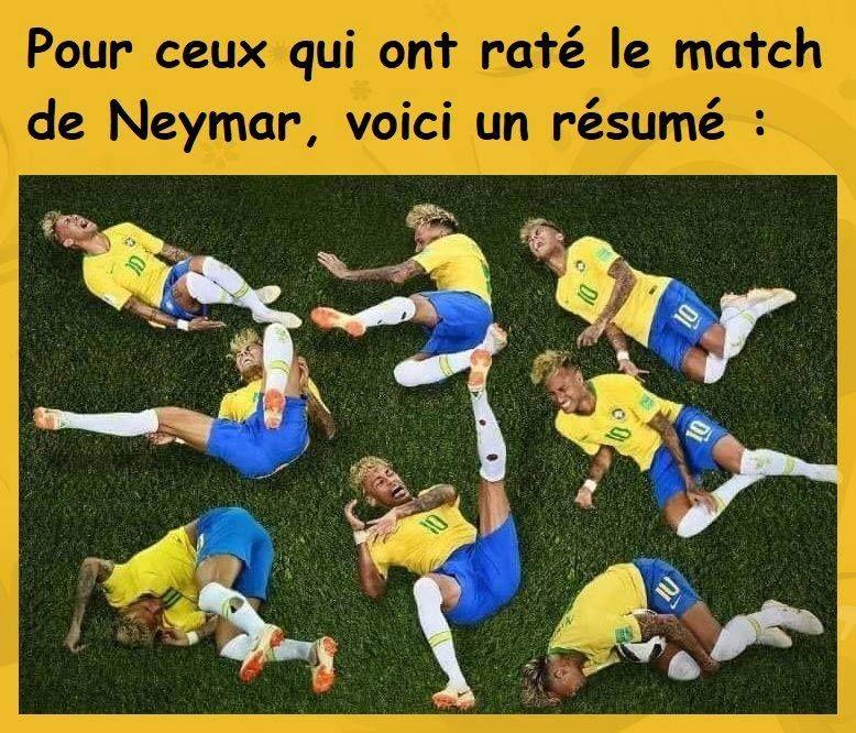 pour  ceux qui ont rat u00e9 le  match de neymar  voici un  r u00e9sum u00e9      blague  rire  mdr  lol