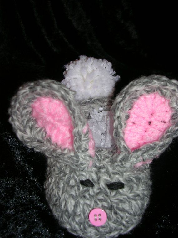 Baby Bunny Slippers by janeNjanecreations on Etsy, $15.00