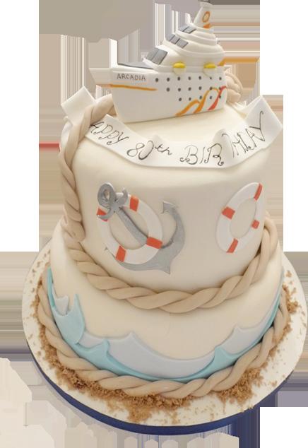 Hunkydory Cakes Party Cakes Cruise Themed Cake Cake