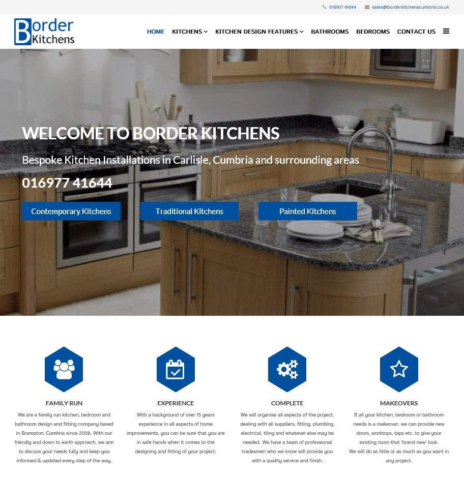 a new website design for a small business in brampton serving