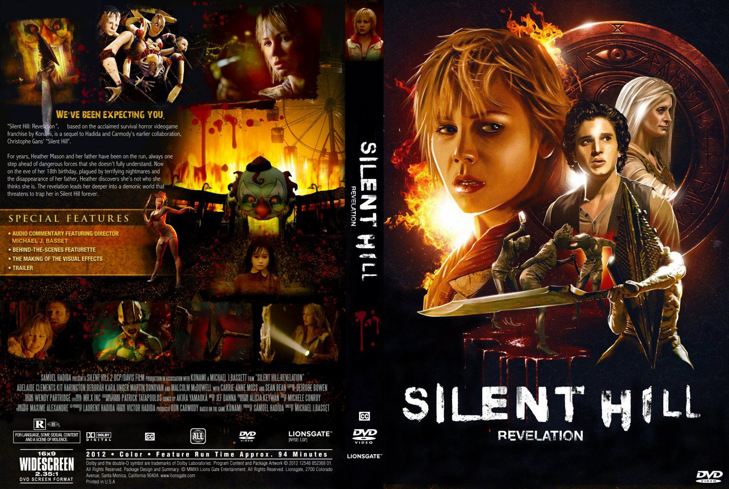 Silent Hill Revelation Dvd Cover Silent Hill Revelation Movie