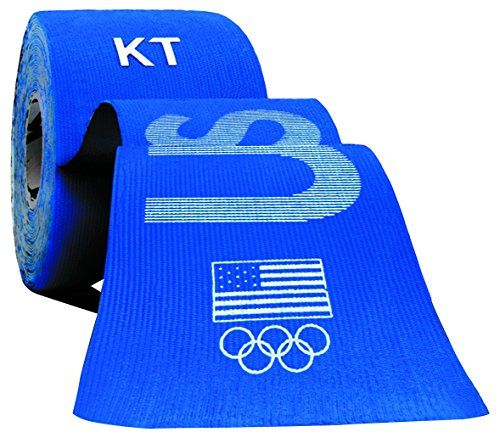 KT TAPE PRO Synthetic Elastic Kinesiology 20 PreCut 10Inch Strips Therapeutic Tape PRO USA Blue ** Read more  at the image link. Note:It is Affiliate Link to Amazon.