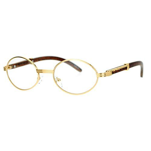 44635f4e33 SA106 Art Nouveau Vintage Style Oval Metal Frame Eye Glasses Yellow Gold      See this great product.Note It is affiliate link to Amazon.
